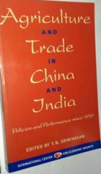 Image of Agriculture and Trade in China and India: Policies and Performance since 1950